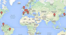 Weltweite Partner-